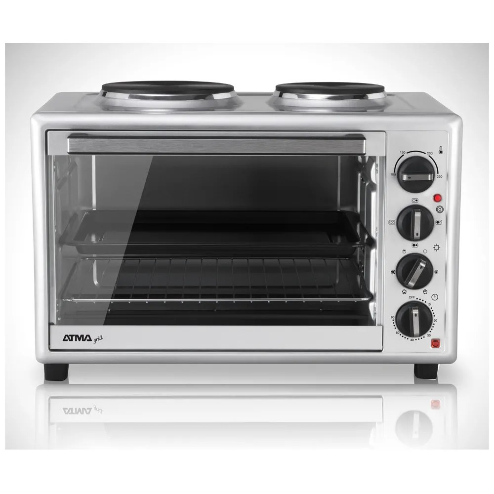 HORNO GRILL ATMA 50L CONV. 2 ANAFES HG5010AN