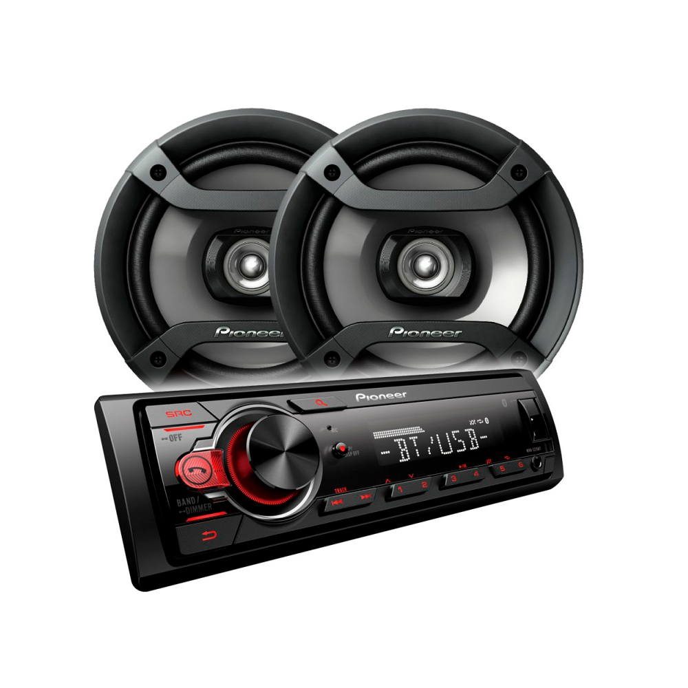 AUTOESTEREO PIONER MXT-S216BT +2PARL.RED.