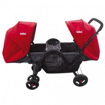 COCHE BEBITOS TWINS BE-758