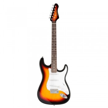 GUITARRA ELECT. KANSAS PACK HONEYBURST FG-250-HB KNS