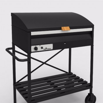 PARRILLA ANGUS GAS ANGUS 90CM C/BASE