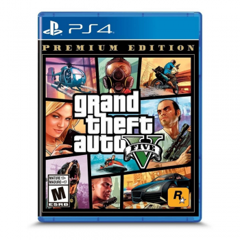 JUEGO PS4 GRAND THEFT AUTO V PREMIUM EDITION