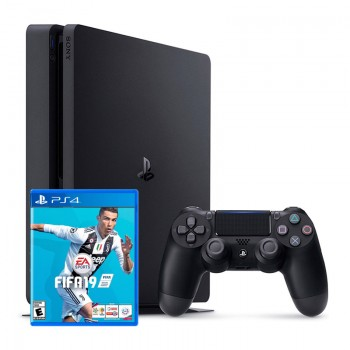 PLAY STATION 4 SLIM 1TB FIFA 2019